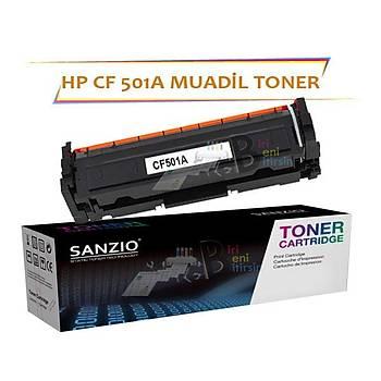 HP Laserjet Pro CF501A Çipsiz Mavi Muadil Toner M254 M280 M281