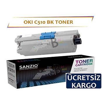 Oki C510 Muadil Toner Siyah Yüksek Kapasiteli C511 C530 C531 MC352 MC361 MC561 MC562