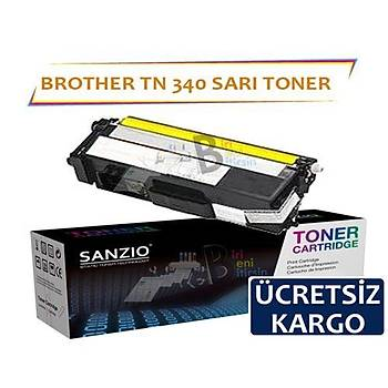 For Brother Tn 340 Y Sarý Muadil Toner Dcp9055 Hl 4150 4570 Mfc9460 9970