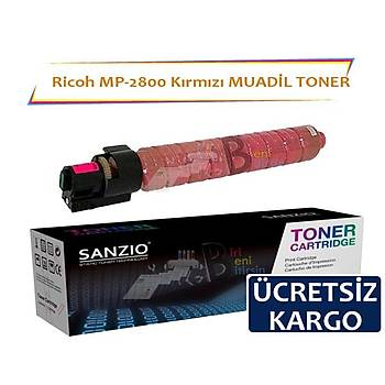 Ricoh MP C2800 C3300M Kýrmýzý Muadil Toner Aficio C3501 C3001