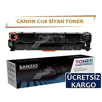 Canon C118 K Siyah Muadil Toner LBP7200 LBP7660 LBP8380