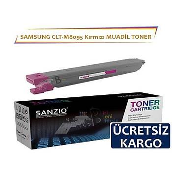 For Samsung CLT M809S Toner Meganta Kýrmýzý Muadil Toner 20.000 Sayfa MultiXpress CLX 9201NA 9251NA