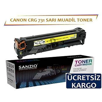 Canon Crg-731 Sarý Muadil Toner Lbp7100 Mf 8280 6680