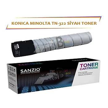 Konica Minolta TN 322 Black Siyah Muadil Toner Bizhub 224 284 364 C224 C284 C364