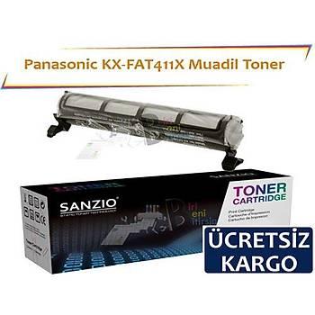 Panasonic KX-FAT411X Muadil Toner KX MB2030 MB2020 MB2000 MB2010 MB2025 MB2061 MB2061E