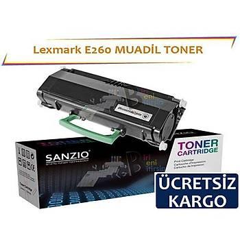 Lexmark E260 Muadil Toner E460 E360 E260 E462