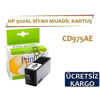 HP 920 XL Siyah Muadil Kartuþ CD975AE