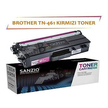 For Brother TN 461 Kýrmýzý Muadil Toner DCP L8410 CDW MFC L8690 8900