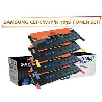 Samsung CLT-K409S Muadil Toner Seti CLP 310 315, CLX 3170 3175