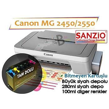 Canon Canon Mg2450 Mg2550 Ýçin Pg-545 Orjinal Siyah Kartuþ Bk Sistemi Ýçin Hazýr