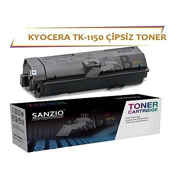 Kyocera Mita TK 1150 Çipsiz Muadil Toner 3000 Sayfa Ecosys M2135 M2235 M2635 M2735