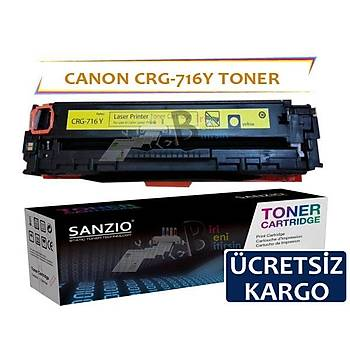 Canon Crg-716Y Sarý Muadil Toner i-Sensys LBP5050 MF8050CN MF8030CN