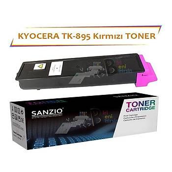 Kyocera Mita TK 895M Kýrmýzý Muadil Toner FS C 8020 8025 8520
