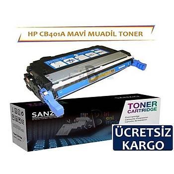 HP CB401A Muadil Toner Mavi 642A CP4005N CP4005DN