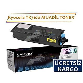 Kyocera TK3100 Muadil Toner Kyocera Ecosys FS-2100D FS-2100DN M3040dn M3540dn