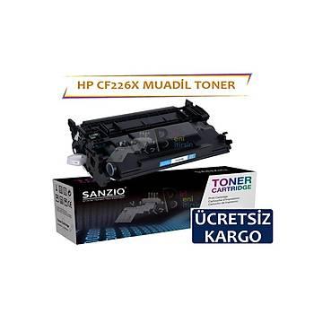 HP CF226X Siyah Muadil Toner 26X 9000 syf Laserjet Pro M402 n dn