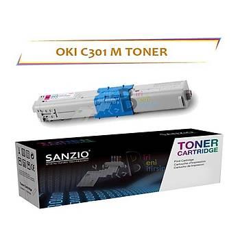 Oki C301 Kýrmýzý Muadil Toner C301 C321 MC332 MC342