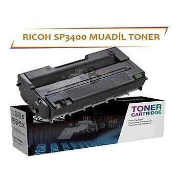 Ricoh SP 3400 Muadil Toner 3400SF 3410SF