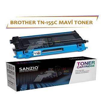 For Brother Tn-155C Mavi Muadil Toner 9040/4040