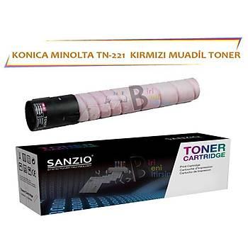 Konica Minolta TN 221 M Muadil Toner Bizhub C227 C287