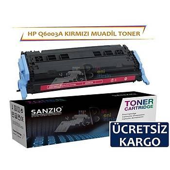 Hp Q6003A Muadil Toner Kýrmýzý Renk 1600/2600