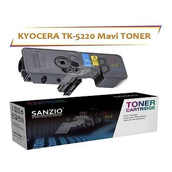 Kyocera Mita TK5220 Cyan Mavi 1200 Sayfa Muadil Toner Ecosys P5021 M5521