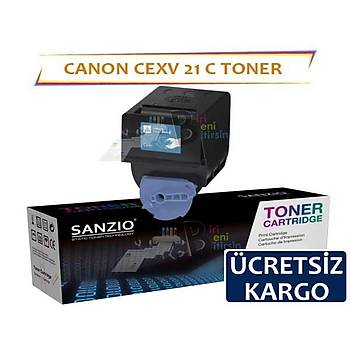 Canon CEXV21 Mavi Muadil Toner IRC2550 IRC2380 IRC2880