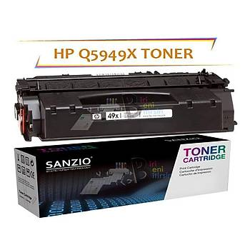 HP LaserJet Q5949X Muadil Toner 49X 6000sayfa P2014 P2015 P2015dn M2727 3390 3392 1320 1161