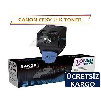 Canon CEXV21 Siyah Muadil Toner IRC2880 IRC2380 IRC2550