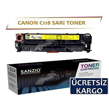 Canon C118 Sarý Muadil Toner LBP7200 LBP7660 LBP8380