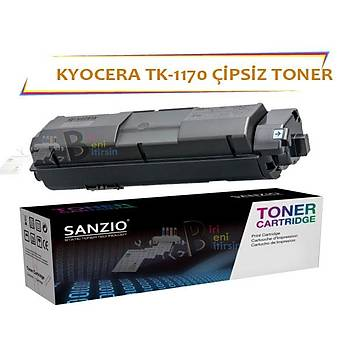 Kyocera TK 1170 Çipsiz Muadil Toner 7200 Sayfa ECOSYS M2040dn M2540dn M2640idw