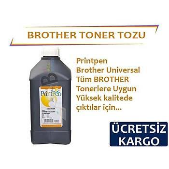 Printpen For Brother Tonerler Ýçin Siyah Toner Tozu 1Kg