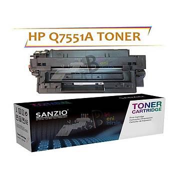 HP Q7551A Muadil Toner 51A LaserJet P3005d P3005n P3005dn P3005x M3027 M3027x MFP P3035x P3035xs MFP