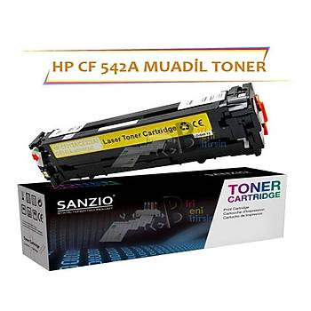 HP CF542A Çipsiz Sarý Muadil Toner M254 M280 M281