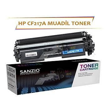 HP LaserJet Pro CF217A 17A Çipsiz Siyah 1600 Sayfalýk Muadil Toner M102w MFP M130a