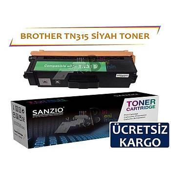 For Brother TN 315 K Siyah Muadil Toner HL4150 4570