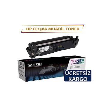 HP CF230A Siyah Muadil Toner 30A 1600 syf HP Laserjet M203 d dn d