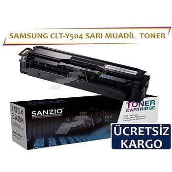 For Samsung Clt-Y504 Muadil Toner Sarý CLP-470 CLP-475 CLX-4170