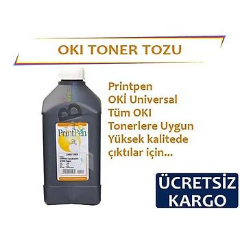 Printpen Oký Tonerler Ýçin Siyah Toner Tozu 1Kg