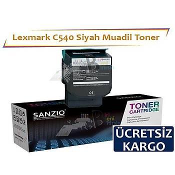 Lexmark C540 Muadil Toner Siyah C540 C543 C544