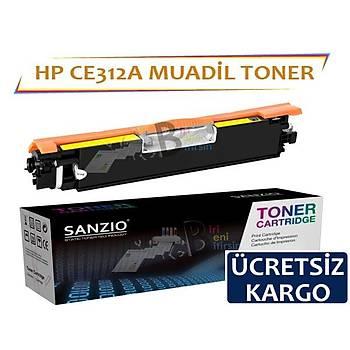 Hp LaserJet Pro 100 Ce312A Muadil Toner CP1025 CP1025nw M175 M175nw M176n M176fw M275 126A
