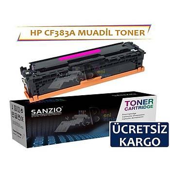 HP CF383A muadil toner kýrmýzý 312A MFP M476