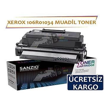 Xerox Phaser 3420 3425 Muadil Toner 106R01034