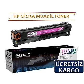 HP LaserJet Pro 200 CF213A Muadil Toner Kýrmýzý 131A M251n, M276n, M276nw