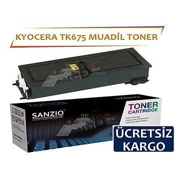 Kyocera Tk675 Muadil Toner Kyocera KM 2540 2560 3040 3060