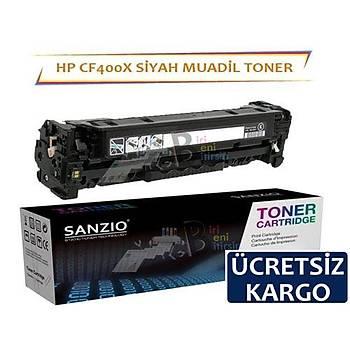 HP Color LaerJet CF400X Muadil Toner Siyah 201X MFP M274N M252N M252DW M277DW