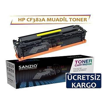 HP CF382A muadil toner sarý 312A MFP M476