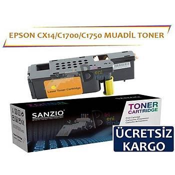 Epson Cx17 Muadil Toner Mavi C1700 C1750