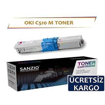 Oki C510 Muadil Toner Kýrmýzý Yüksek Kapasiteli C511 C530 C531 MC352 MC361 MC561 MC563