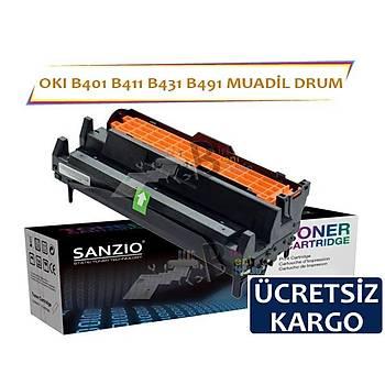 Oki B401 B411 B431 B491 Muadil Toner Drum Ünite